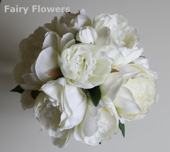 Silk Wedding Flowers 63 Perfect white lily u rose