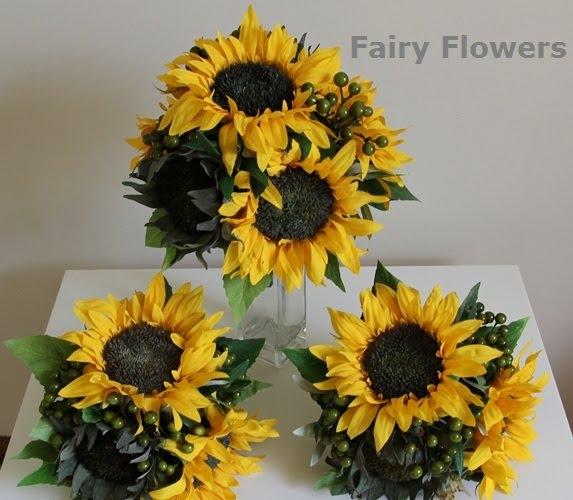 Wedding Flower 64 Epic Sunflowers wedding set