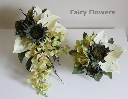 Silk Wedding Flowers 65 Fancy Earth Tone Modern Wedding