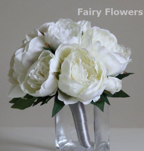 Silk Wedding Flowers 17 Amazing poeny posy orchids u