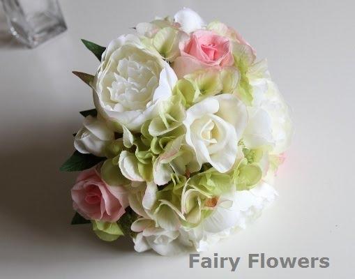 Silk Wedding Flowers 18 Stunning Rose peony u hydrangea