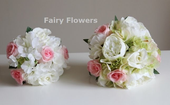 Silk Wedding Flowers 16 Popular pink and fuchsia frangipani