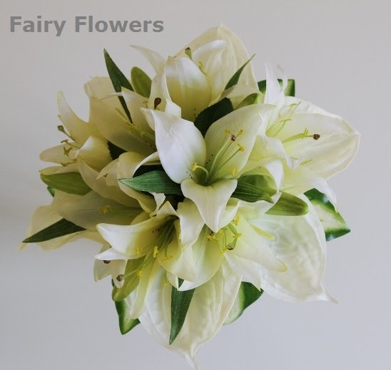 Silk Wedding Flowers 51 Good lily u anthurium bridal