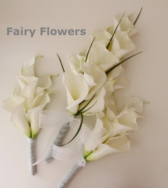 Silk Wedding Flowers 94 Elegant real touch calla lily
