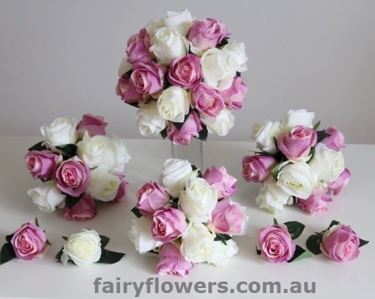 Silk Wedding Flowers 53 Awesome Real touch roses wedding