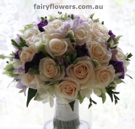 Wedding Flower 93 Superb Garden roses bridal bouquet