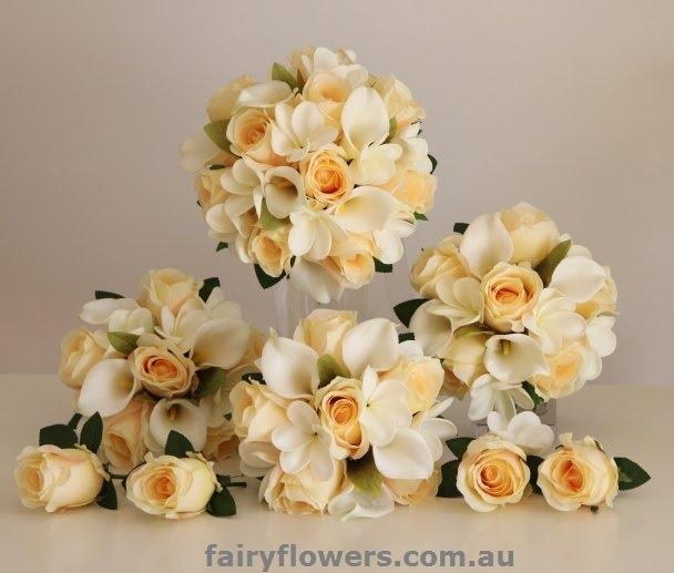 Silk Wedding Flowers 61 Spectacular wedding flower set Package