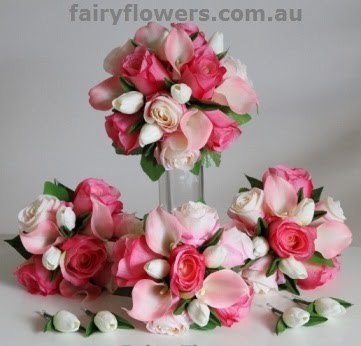 Silk Wedding Flowers 70 New Artificial Wedding Flower Packages